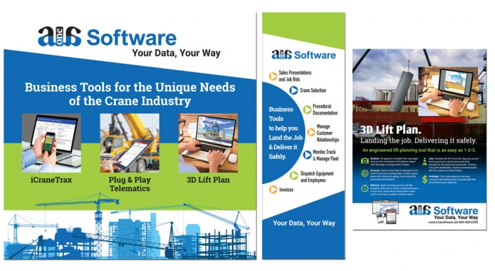 A1A Software Trade Show Displays & Ads