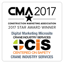 CMA 2017 Award Crane Industry Services