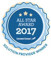 Constant Contact 2017 All Star Award Mighty Mo
