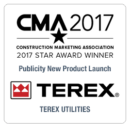 CMA 2017 Award Terex Utilities